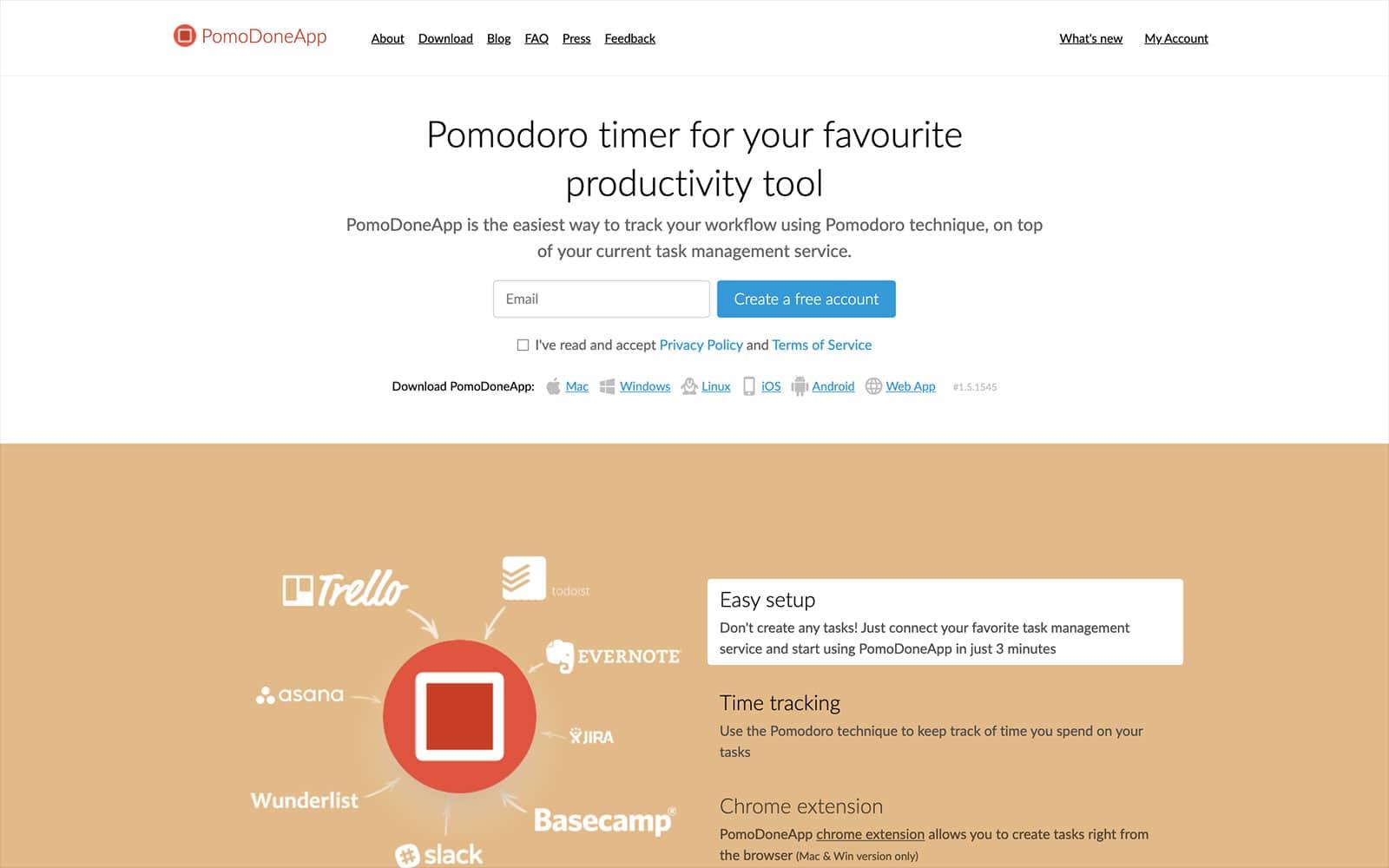 PomoDoneApp Pomodoro