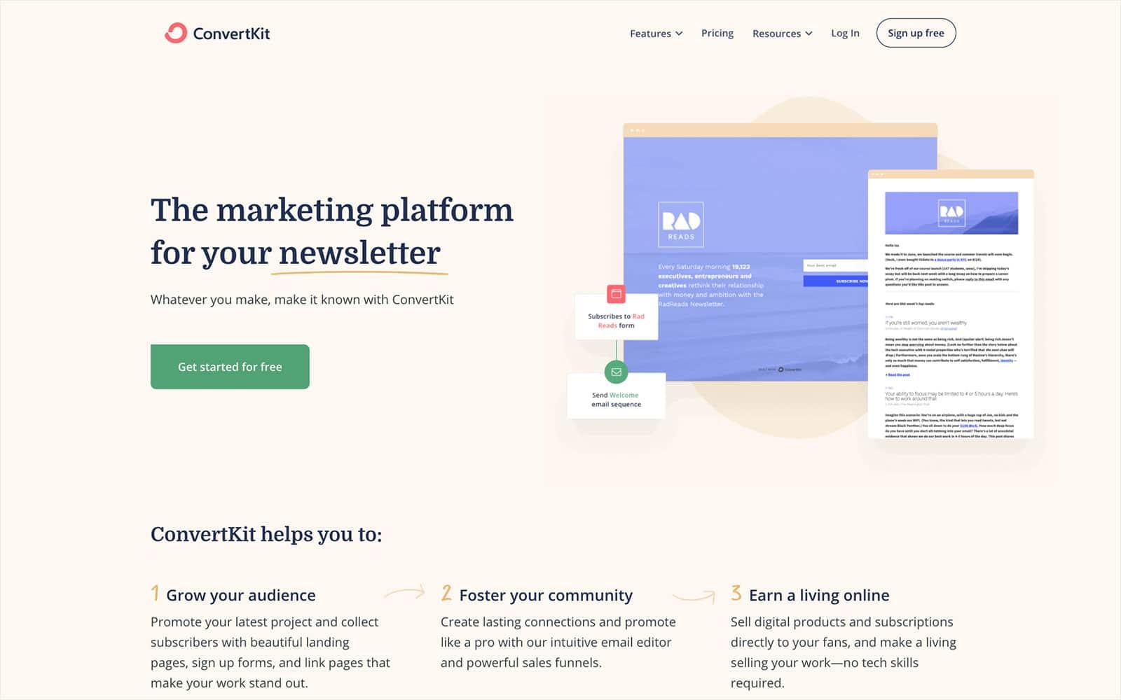 ConvertKit The creator marketing platform