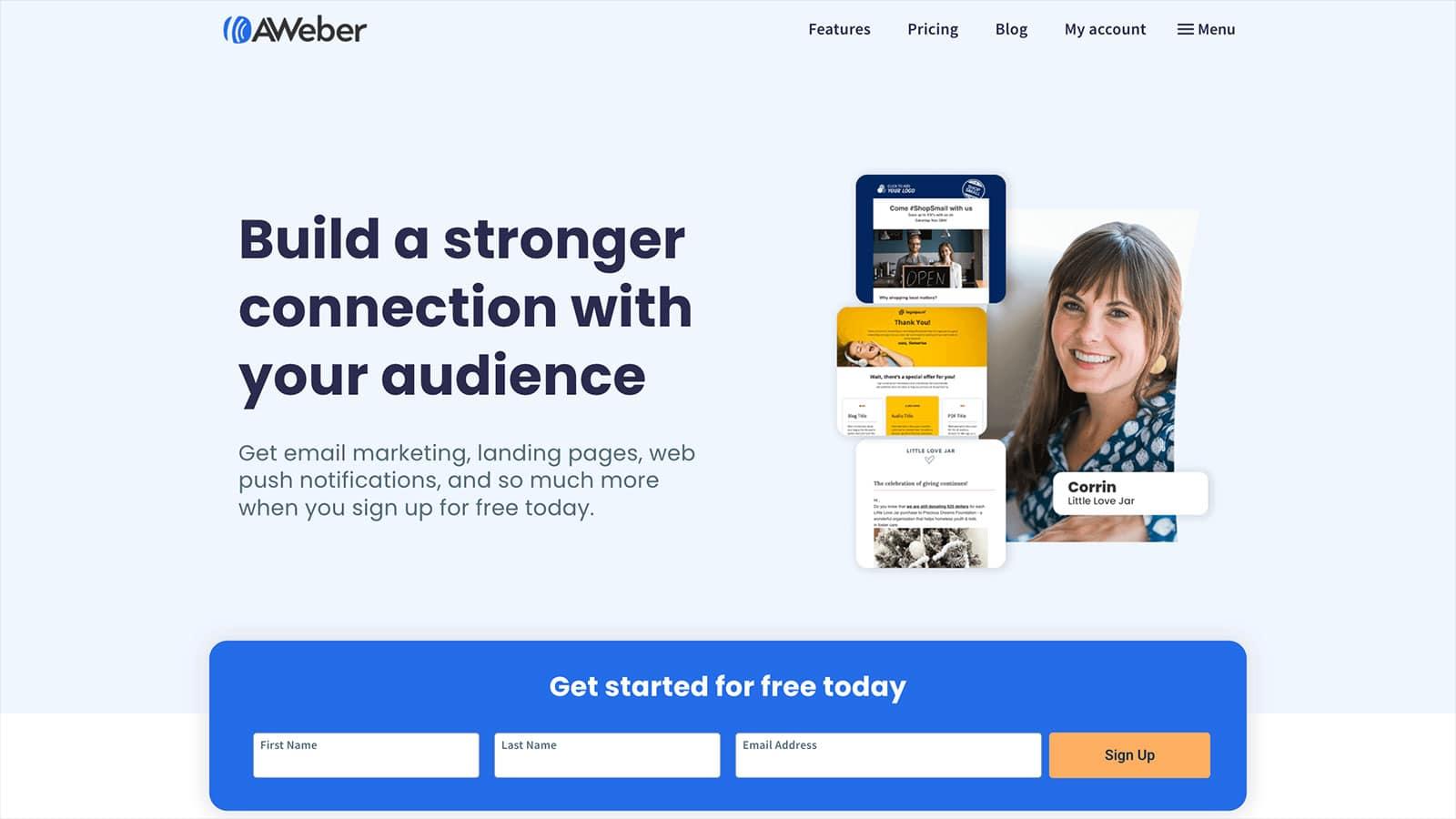 AWeber Email Marketing 1